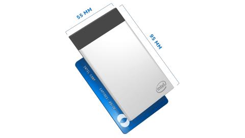 カード型PCはクレジットカード大のパソコン