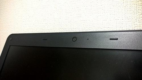 ノートPCのウェブカメラ