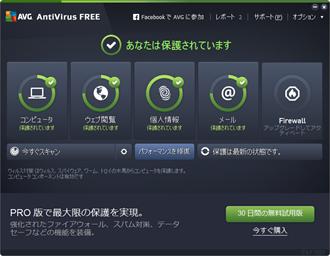 AVGアンチウイルス