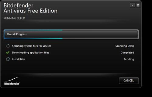 BitDefender Antivirus Free Editionのインストール方法