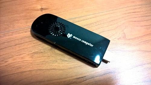 マウスコンピューターm-Stick MS-PS01F